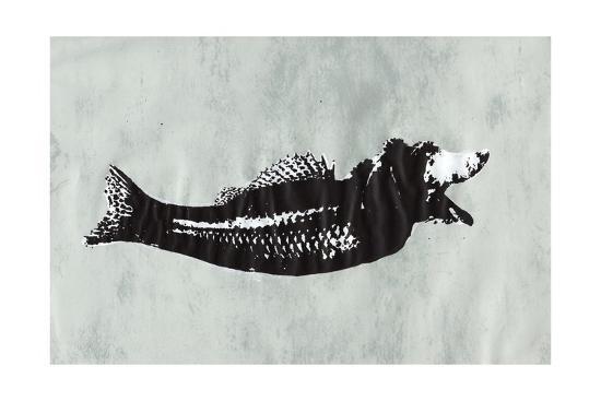 Dog Fish-Katie Edwards-Giclee Print