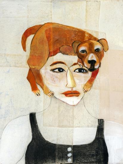 Dog Hair-Stacy Milrany-Art Print