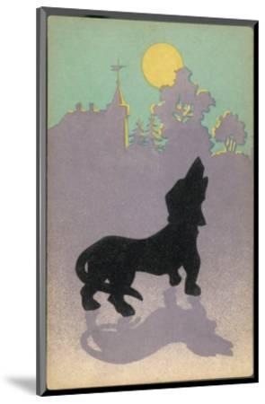 Dog Howls at the Full Moon