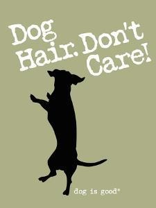 Dog Hair Dont Care by Dog is Good