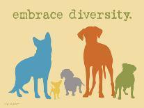 Never Walk Alone-Dog is Good-Art Print