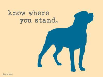 Know Where Stand