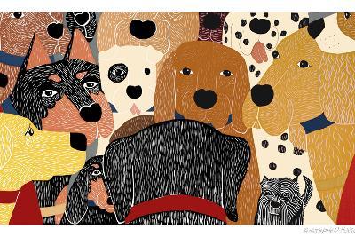 Dog Meeting-Stephen Huneck-Giclee Print