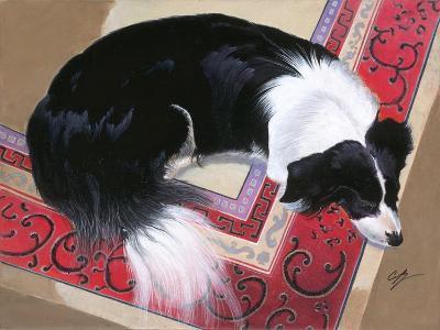 Dog on a Rug-Durwood Coffey-Giclee Print