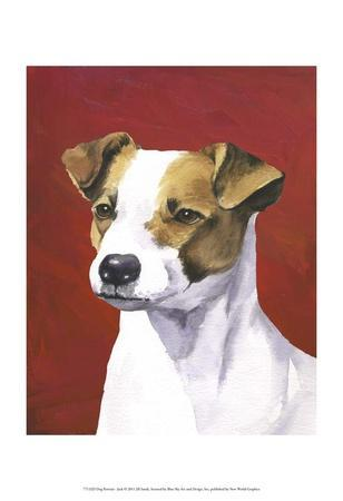 Dog Portrait, Jack-Jill Sands-Art Print