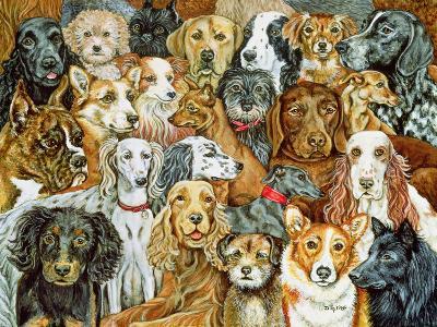 Dog Spread, 1989-Ditz-Giclee Print