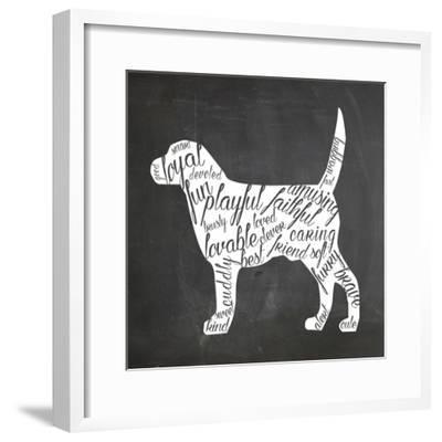 Dog-Erin Clark-Framed Giclee Print