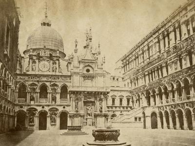 Doge's Palace-Giacomo Brogi-Photographic Print