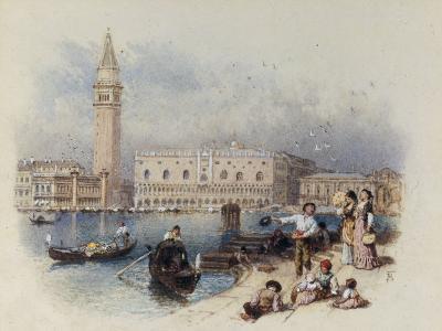 Doges Palace, Venice-Myles Birket Foster-Giclee Print