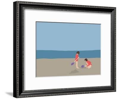 Dogging To China-Jorey Hurley-Framed Art Print