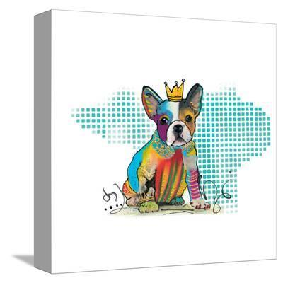 Doggy Diva-Lucy Cloud-Stretched Canvas Print