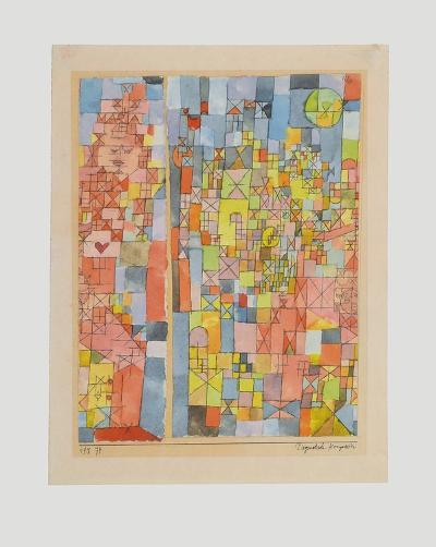 Dogmatic Composition-Paul Klee-Collectable Print