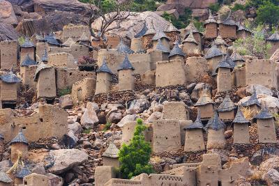 Dogon village, Mali-Art Wolfe-Photographic Print