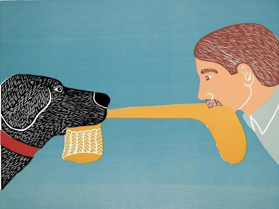 Dogs Bring Out Your Inner Child-Stephen Huneck-Giclee Print