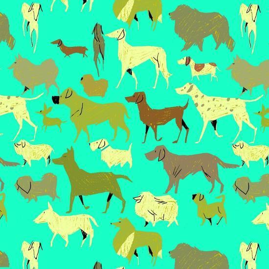 Dogs!-A Richard Allen-Giclee Print