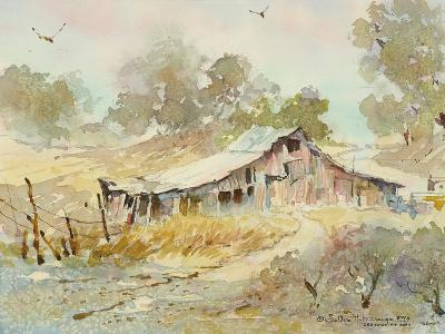 Dogtown Road Barn-LaVere Hutchings-Giclee Print