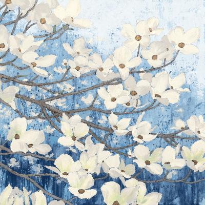 Dogwood Blossoms II Indigo-James Wiens-Art Print