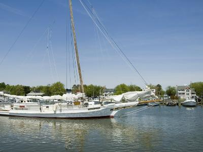 Dogwood Harbour, Tilghman Island, Talbot County, Chesapeake Bay Area, Maryland, USA-Robert Harding-Photographic Print