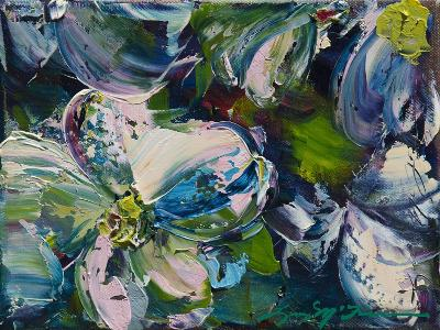 Dogwood Impressions-Lucy P. McTier-Giclee Print