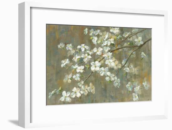 Dogwood in Spring-Danhui Nai-Framed Art Print