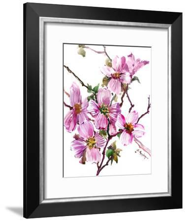 Dogwood-Suren Nersisyan-Framed Art Print