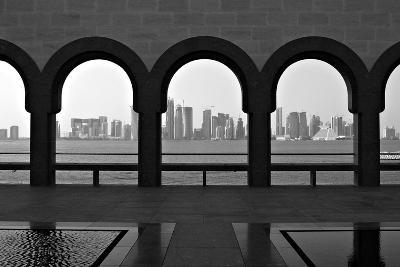Doha Skyline from Museum-Gregory T. Smith-Photographic Print