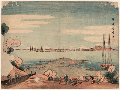 Dokanyama Shinagawa Oki Ukie-Shotei Hokuju-Giclee Print