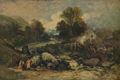 Dol-y-Garrog Mill near Llanrwst, Caernarvonshire, c1844-William James Muller-Giclee Print