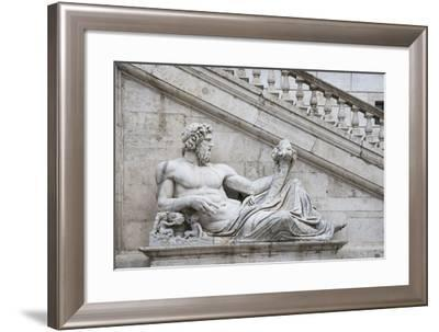 Dolce Vita Rome Collection - Ancient Roman Statue III-Philippe Hugonnard-Framed Photographic Print