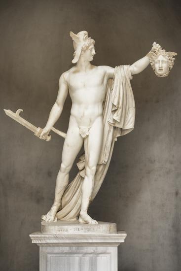 Dolce Vita Rome Collection - Ancient Roman Statue-Philippe Hugonnard-Photographic Print
