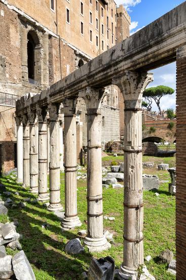 Dolce Vita Rome Collection - Architecture Columns-Philippe Hugonnard-Photographic Print