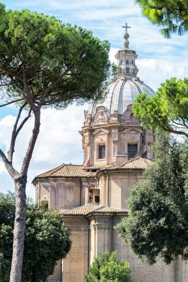 Dolce Vita Rome Collection - Church of Rome II-Philippe Hugonnard-Photographic Print