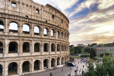 Dolce Vita Rome Collection - Colosseum at Sunset III-Philippe Hugonnard-Photographic Print