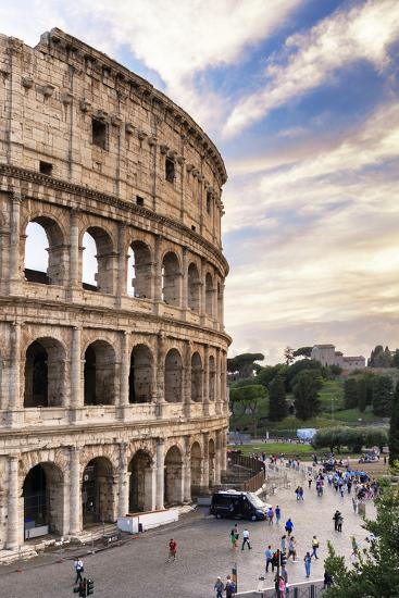 Dolce Vita Rome Collection - Colosseum at Sunset IV-Philippe Hugonnard-Photographic Print