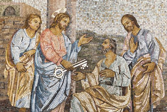 Dolce Vita Rome Collection - Holy Representation in Mosaic-Philippe Hugonnard-Photographic Print