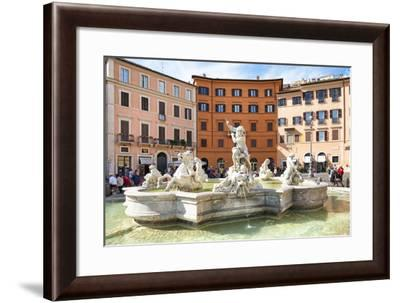 Dolce Vita Rome Collection - Piazza Navona-Philippe Hugonnard-Framed Photographic Print