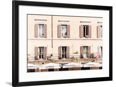 Dolce Vita Rome Collection - Pizzera Restorante II-Philippe Hugonnard-Framed Photographic Print