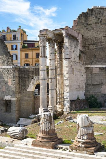 Dolce Vita Rome Collection - Rome Columns II-Philippe Hugonnard-Photographic Print