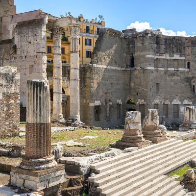 Dolce Vita Rome Collection - Rome Columns IV-Philippe Hugonnard-Photographic Print