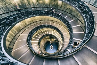 Dolce Vita Rome Collection - Spiral Staircase V-Philippe Hugonnard-Photographic Print