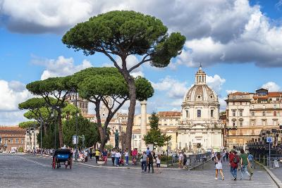 Dolce Vita Rome Collection - Sunday in Rome-Philippe Hugonnard-Photographic Print