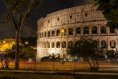 Dolce Vita Rome Collection - The Colosseum Orange Night-Philippe Hugonnard-Photographic Print