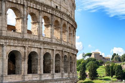 Dolce Vita Rome Collection - The Colosseum Rome VII-Philippe Hugonnard-Photographic Print