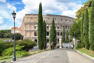 Dolce Vita Rome Collection - The Colosseum Rome-Philippe Hugonnard-Photographic Print