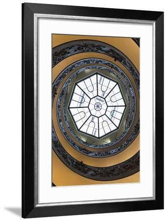 Dolce Vita Rome Collection - The Vatican Spiral Staircase II-Philippe Hugonnard-Framed Photographic Print