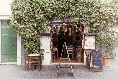 Dolce Vita Rome Collection - Trattoria II-Philippe Hugonnard-Photographic Print