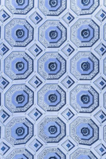 Dolce Vita Rome Collection - Vatican Blue Mosaic-Philippe Hugonnard-Photographic Print
