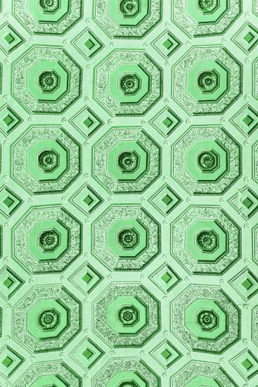 Dolce Vita Rome Collection - Vatican Green Mosaic-Philippe Hugonnard-Photographic Print