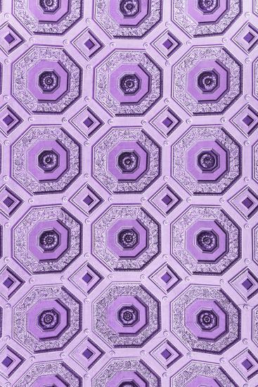 Dolce Vita Rome Collection - Vatican Purple Mosaic-Philippe Hugonnard-Photographic Print