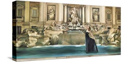 Dolce Vita-Pierre Benson-Stretched Canvas Print